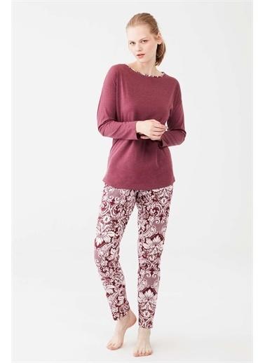 Mod Collection Pijama Takım Mürdüm